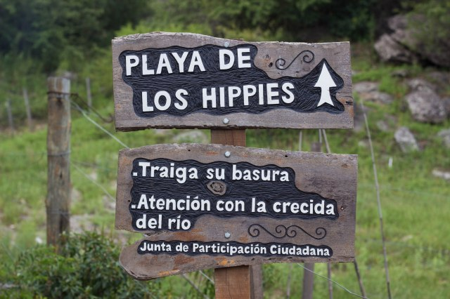 Playa sign