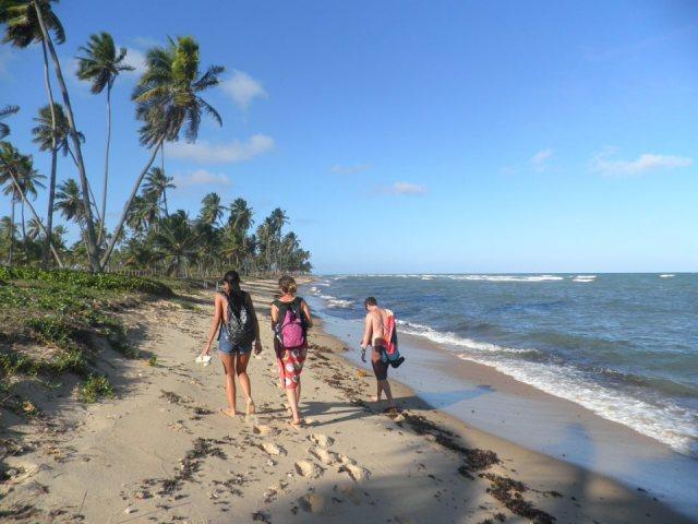 praia walk